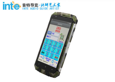 Cina Hand Held Peralatan Interpretasi Simultan Perangkat Android Audio Guide Cerdas A9 Distributor